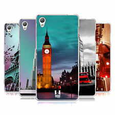 HEAD CASE DESIGNS BEST OF PLACES SET 2 SOFT GEL CASE FOR SONY PHONES 1