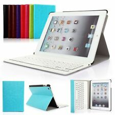 """Detachable Bluetooth Keyboard ABS Slim Leather Case For Apple iPad 2 3 4 / 9.7"""""""