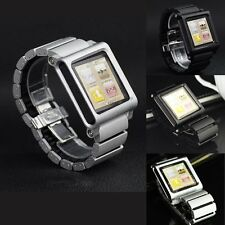 Aluminum Multi-Touch Watch Band Strap Bracelet for iPod Nano 6 6th Gen