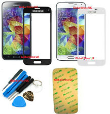 GENUINE FRONT GLASS REPLACEMENT SCREEN FOR SAMSUNG GALAXY S5 S4 S3 Mini Note 4
