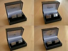"Football ""Club Crest"" Stainless Steel Cufflinks Gift Set - Official Club Product"
