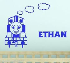 Train Thomas the Tank Engine with any Custom Name Wall Sticker & Friends
