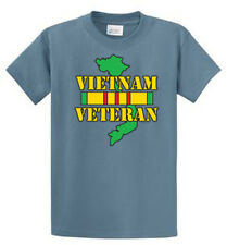 Vietnam Veteran Port & Co Printed Tee Shirts Mens Regular and Big and Tall Sizes