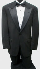 Black Tommy Hilfiger Tuxedo Package Made in USA Wedding Prom Formal Mason 58L