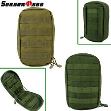 1X 1000D Tactical Molle Belt Medical First Aid Pouch Military Bag Olive Drab/Tan