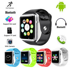 GSM Bluetooth Wrist Smart Watch Cell Phone for IOS Android Phones