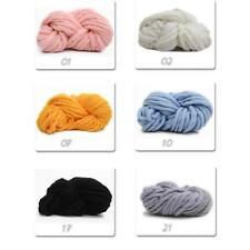 Useful Super Thickness Soft Wool Roving Bulky Chunky Yarn Spinning Hand Knitting