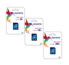ADATA 8GB,16GB,32GB Class 4 SDHC SD Card Flash Memory for Camera, DSLR, Tablet