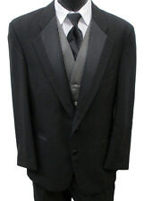 Black Perry Ellis Two Button Tuxedo Package Wedding Prom Formal Cruise Mason