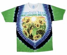 Grateful Dead Tie Dye T Shirt Sunflower Terrapin LICENSED, S, M, L, XL, 2XL