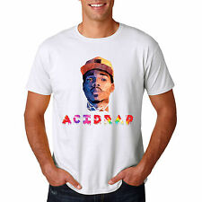 Acid Rap Chance The Rapper Rap Hip Hop White T Shirt Size S-3XL #02