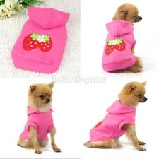 Dog Cat Jacket Coat Clothes Hoodie Pet Puppy Lovely Sweater Costumes XS-XXL B36