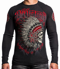 Affliction - PEACE PIPE - Men's Thermal Shirt - Reversible - NEW - A12604