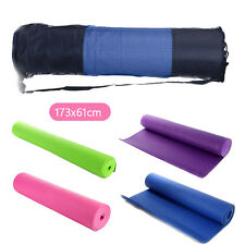 Extra Thick 6mm PVC Yoga Gym Pilate Mat Fitness Non Slip Exercise Board