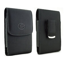 Leather Belt Clip Case Pouch Cover  Pantech Phones