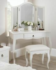 Romance white dressing table, Stunning French dressing table with drawer.QUALITY