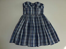 JACK WILLS Gorgeous Checked Bleakley Dress Size 8 NWT
