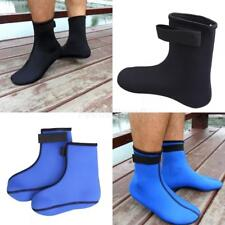 Neoprene 3mm Thick Warm Beach Swimming Diving Scuba Surfing Socks Boot Shoe S-XL