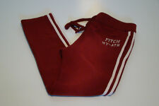 NWT ABERCROMBIE & FITCH BURGUNDY SKINNY SWEATPANTS MENS SIZE XL
