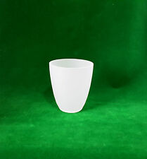Conical Frosted Glass Lamp Shade (lighting replacement cone)
