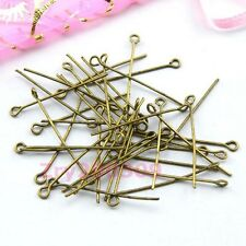 Antiqued Bronze Eye Pins Connectors 20mm,30mm,40mm,DIY Findings R0021