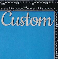 Chipboard Custom Design Order Words