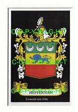 HEFFERNAN Family Coat of Arms Crest - Choice of Mount or Framed