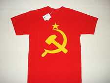 USSR SOVIET UNION RUSSIA NEW T-SHIRT: S M L XL 2XL CCCP COMMUNISM WAR ARMY KGB