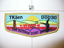 OA Tkaen Dod Lodge 30,S-2.5,BLK 1993 Jamboree,186,Five Rivers Council,Bath,NY,PA