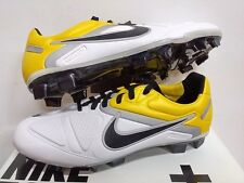 NIKE CTR 360 CTR360 MAESTRI 2 ELITE FG FOOTBALL SOCCER BOOTS CLEATS WHITE YELLOW