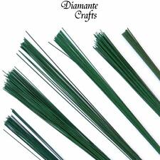 Stub Wire Green Florist Wires Floristry - Large Choice of Length Gauge Quantity