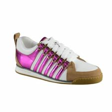 Dsquared Multi-Color Suede Leather Fashion Sneakers Shoes Sz 6 6.5 7 7.5 8.5 9.5