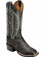 Lucchese CL8009 W8 Womens Silverwash Pig Leather Western Cowboy Boots
