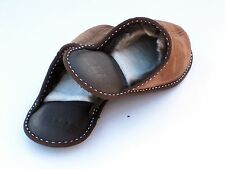 Ladies Genuine Sheepskin Slippers , Highest Quality Nappalan Leather, Home