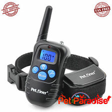 Dog Training Collars for 1/2 K9.Rechargeable,Rainproof,Electronic,Electric Shock