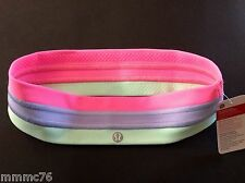 NWT Authentic Lululemon Quilt Fly Away Tamer Headband ZPLI/LAVD/FRTE