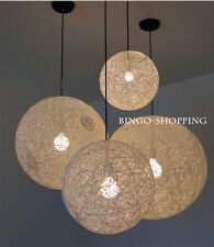 Fashion Simple Creative Modern Ball Pendant Light  Hanging Lamp/Droplight White