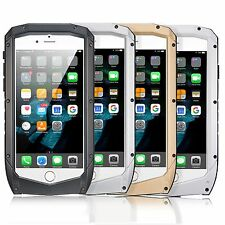 Waterproof Shockproof Aluminum Metal Cover Case for iPhone 6 6s