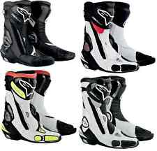 ALPINESTARS MOTORCYCLE BOOT SMX PLUS 2015 WHITE BLACK RED YELLOW EURO 36-48 3404