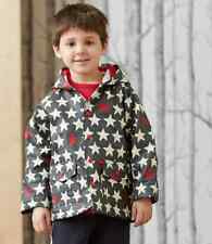 Hatley Rain coat Bright Stars - . Kids Waterproof Jacket with Stars.  Lined.