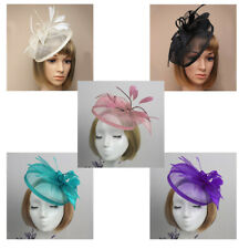 Lady Women Alice Band Handmade Hair Accessory Fascinator Feather Head Band Party