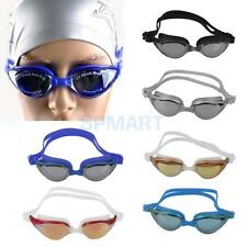 UV Protection Non-Fogging Swimming Swim Goggle Glasses Adult Youth Adjustable