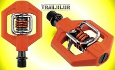 Crank Brothers Orange Spring Candy 1 Clipless Pedals egg beater clips eggbeater