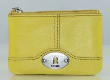 Fossil Maddox Marlow Zip Coin Purse Wallet Leather NWT 6 Different Colors
