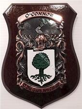 Walker to Wilson Family Handpainted Coat of Arms Crest PLAQUE Shield