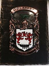 Handpainted COAT OF ARMS Crest Shield on SLATE - Deegan to Denny