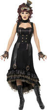 Smiffys STEAM PUNK VAMP COSTUME Vampire Halloween Fancy Dress Adult Womans BN
