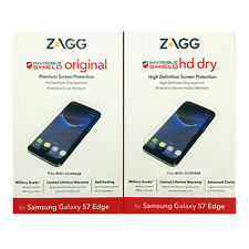 ZAGG InvisibleShield Original/HD Screen Protector for Samsung Galaxy S7 Edge SZ