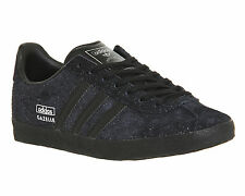 Adidas Gazelle Og W CORE BLACK SILVER METALLIC Trainers Shoes