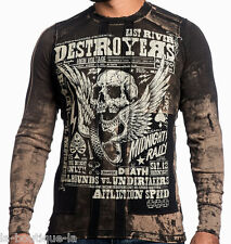 Affliction - DESTROYERS - Men's Thermal Shirt - Reversible - NEW - A12066